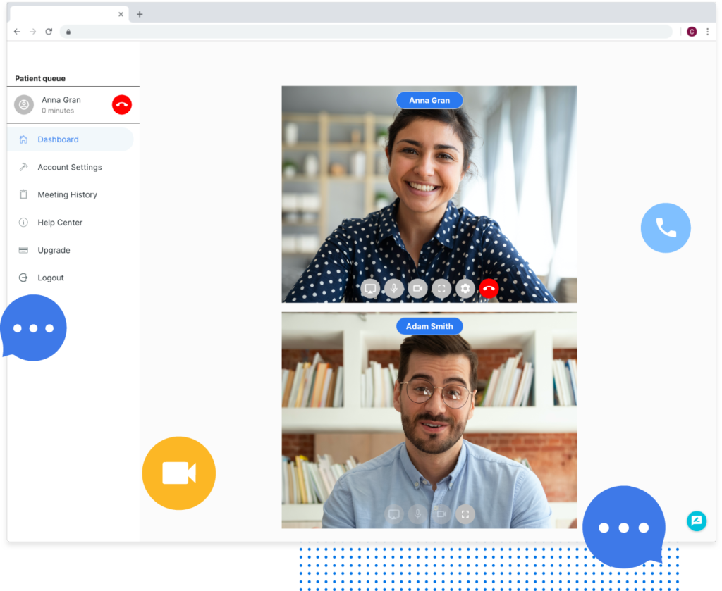 passel, easy , secure video conference